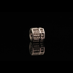 Octagon Abacus 18K Pendant