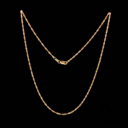 Yellow Gold Wave 916 Chain
