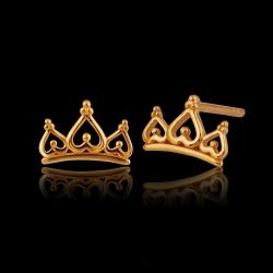 Tiara Crown 916 Earring