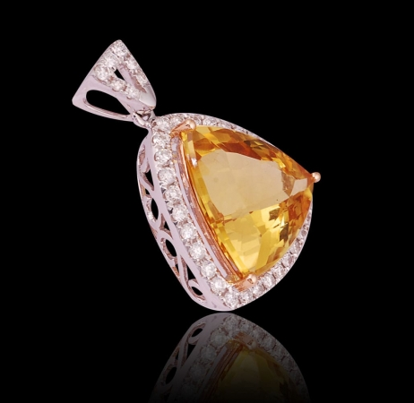 Golden Beryl Pendant II