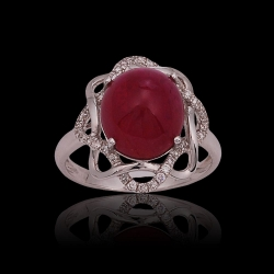 Ruby Lady's Ring II