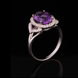 Amethyst Lady's Ring III