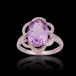 Amethyst Lady's Ring IV