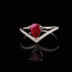 Ruby Lady's Ring III