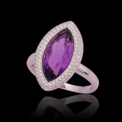 Amethyst Lady's Ring II