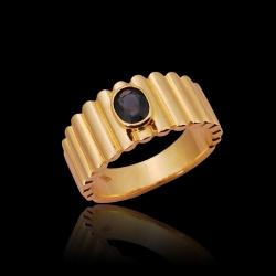 Sapphire Men's Ring