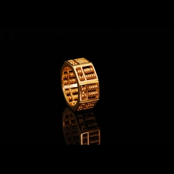 Octagon Abacus 916 Ring