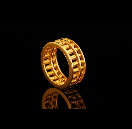 Round Abacus 916 Ring